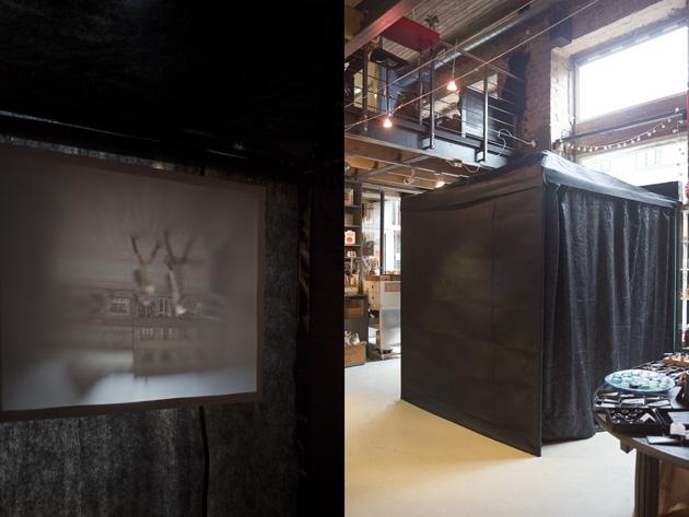 Camera obscura Istabā