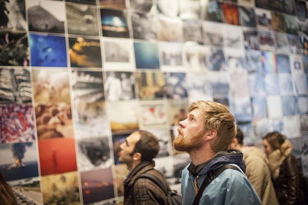 Skats no Krakovas Fotomēneša izstādes 2014. gadā. Publicitātes attēls