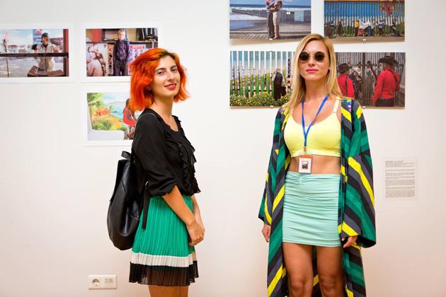 Skats no izstādes Odesas/Batumi foto dienās Batumi. Publicitātes foto